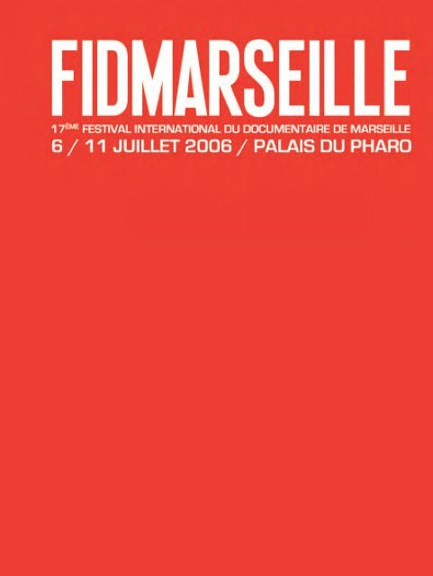 Catalogue 2006 En Pdf Festival International Du
