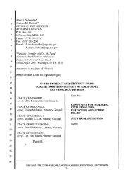 lawsuit - Missouri Attorney General