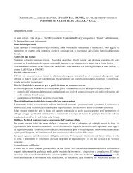 Informativa Privacy Clienti - Imesa Spa