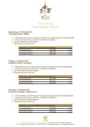 voices on top hotel package