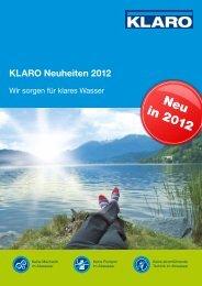 Neu in 2012 - KLARO GmbH
