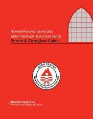 Parent & Caregiver Guide - New York Presbyterian Hospital