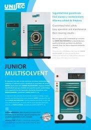 junior multisolvent - Laundry Equipment