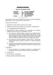 séance du 10 septembre 2008 - MontreuxInfoVille