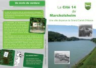 La Cité 14 de Marckolsheim
