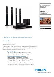 HTB7590D/12 Philips 5.1 Home Entertainment-System ... - Icecat.biz