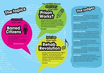 Prison Works? Rehab Revolution - Prison Reform Trust
