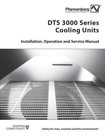 DTS 3000 Series Cooling Units
