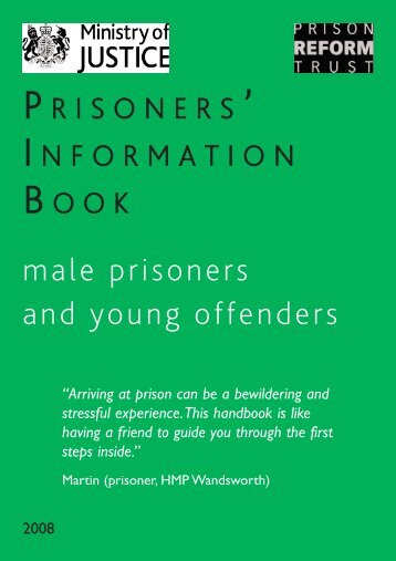 male prisoners and young offenders - Prison Reform Trust