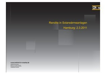 Teil 1 - SolarZentrum Hamburg