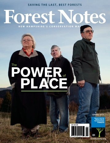 Forest Notes - Society for the Protection of New Hampshire Forests
