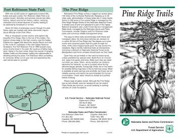 Pine Ridge Trails - Nebraska Game and Parks Commission