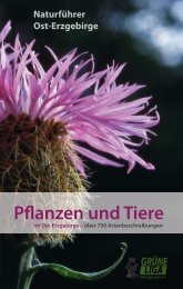 Pflanzen und Tiere 1 - Grüne Liga Osterzgebirge