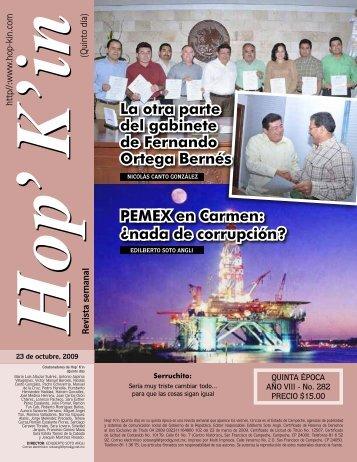 PEMEX en Carmen: ¿nada de corrupción? La otra parte del ...