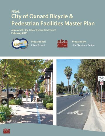 City of Oxnard Bicycle & Pedestrian Facilities Master Plan