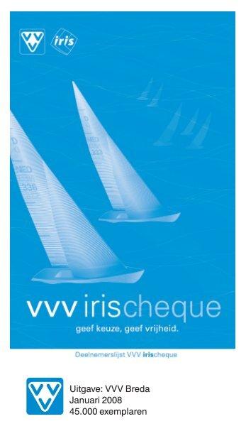 Uitgave: VVV Breda Januari 2008 45.000 exemplaren