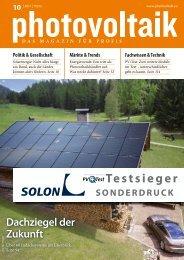 Photovoltaik - Solon