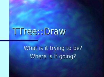 TTree::Draw - Root
