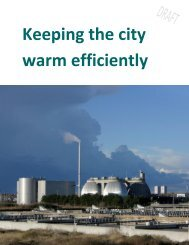 Keeping the city warm efficiently - Copenhagen Cleantech Cluster