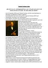 Theodor Fontanes Leben - Palkan