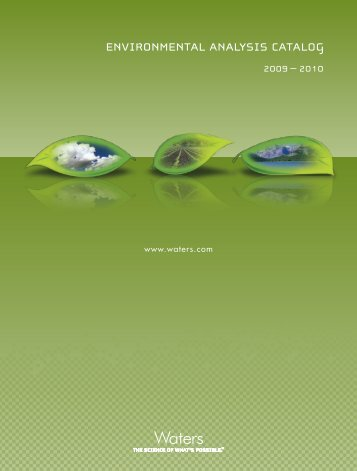 ENVIRONMENTAL ANALYSIS CATALOG - Young Lin