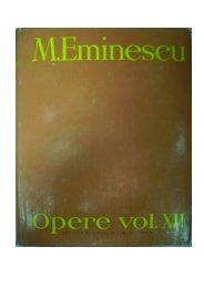 Mihai Eminescu, Opere vol XII, Publicistica