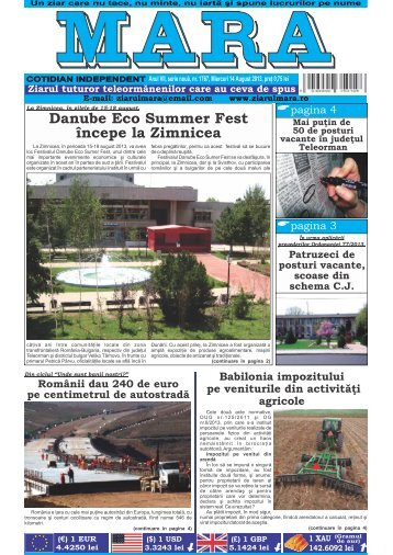 Download (PDF, 2.03MB) - Ziarul Mara