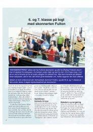 6. og 7. klasse på togt med skonnerten Fulton - Friskolebladet.dk