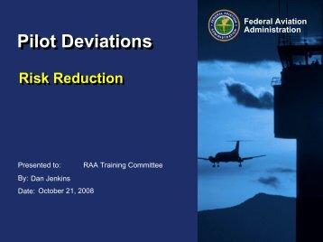 Pilot Deviations