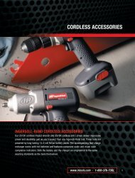 CORDLESS ACCESSORIES - Ingersoll Rand