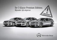 De C-Klasse Premium Editions. - Mercedes-Benz
