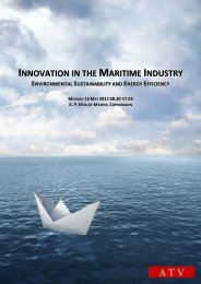 INNOVATION IN THE MARITIME INDUSTRY