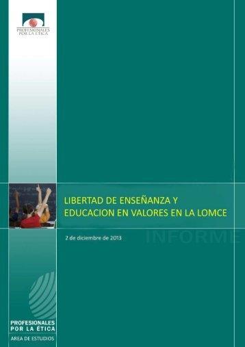 Libertad-de-enseñanza-y-educación-en-valores-en-la-LOMCE-PPE-02122013