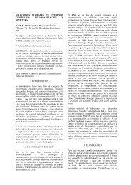 SOLUCIONES GLOBALES EN ENTORNOS COMPLEJOS ... - CEA