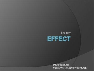 5. Effect
