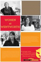 WOMEN at WENTWORTH - Wentworth Institute of Technology