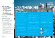 AgriThinking - Autumn 2013 - Mallesons