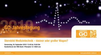 43. GC_JT_2010_Druck:GC - Gesundheits-Cluster