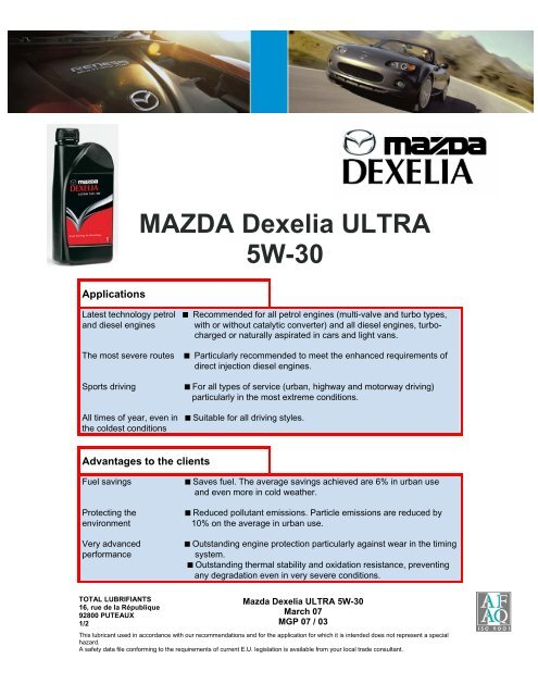 specifications acea 02: a
