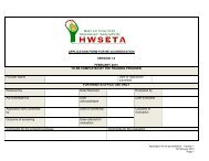 Application Form For RE-Accreditation February 2013