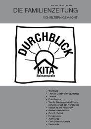 Durchblick - Die Familienzeitung Mai-Juli 2011 - Soltau