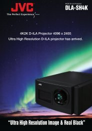 "DLA-SH4K ""Ultra High Resolution Image & Real ... - Projector Central"
