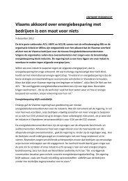 Klik hier voor het volledige persbericht - ACLVB - Vlaanderen