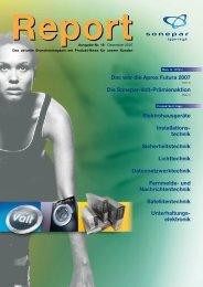 Das war die Apres Futura 2007 Die Sonepar ... - Sonepar Österreich