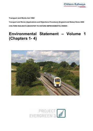 Environmental Statement volume 1 - Chiltern Evergreen3