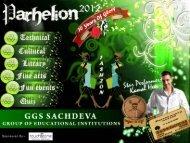 Participation in Parhelion-2012 GGS College of Modern ... - PTU