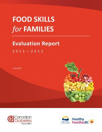 Food Skills for Families Evaluation Report - BC Healthy Living Alliance