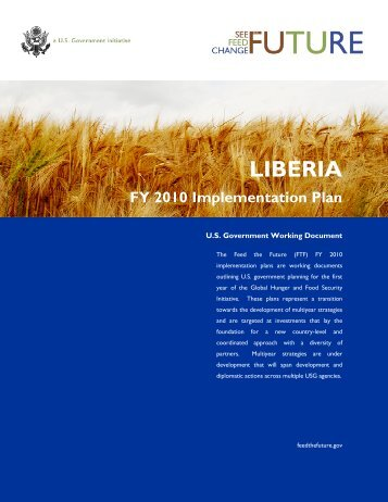 Liberia FY2010 Implementation Plan - Feed the Future