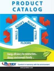 Product Catalogue - Prodex