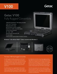 Specifications - Nova Mobile Systems